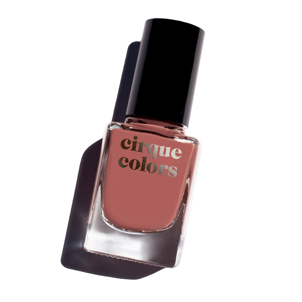 Cirque Colors Rose Kaolin nail polish Terracotta Collection