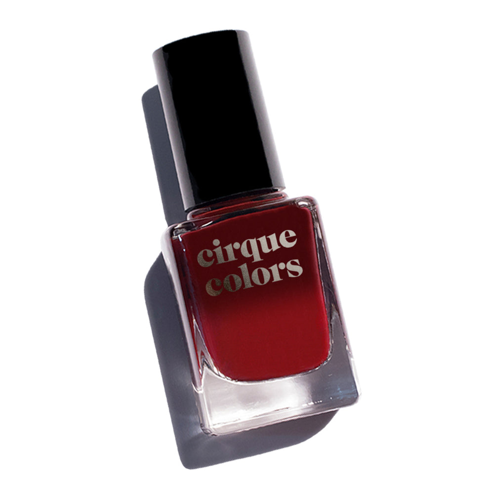 Cirque Colors Rothko Red crimson black thermal nail polish