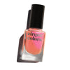 Cirque Colors Sunset Cruise light coral nail polish with fuchsia pink shimmer Resort Collection