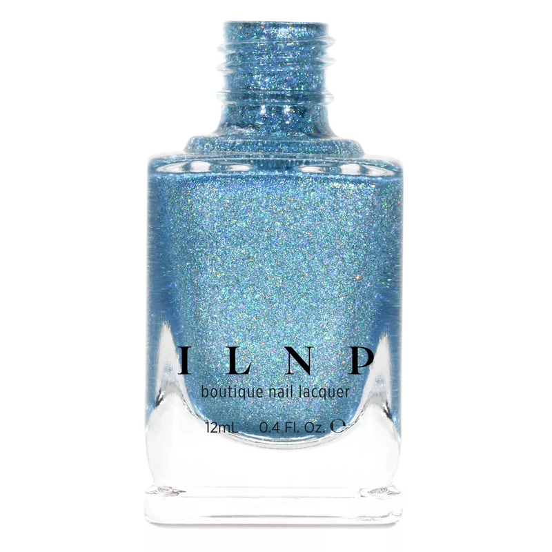 ILNP Cold As Ice ICY BLUE ULTRA HOLOGRAPHIC NAIL POLISH