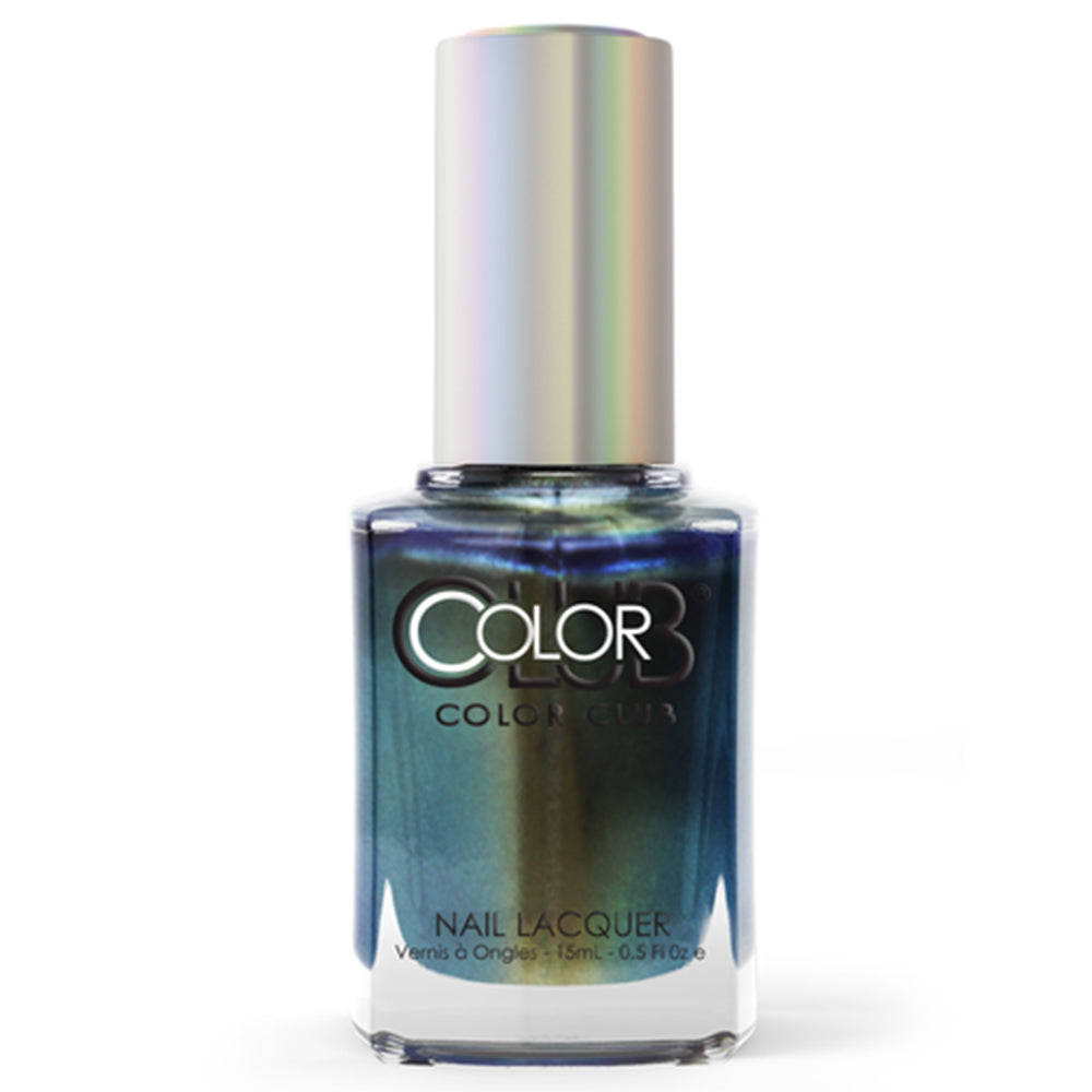 Color Club Cash Only multichrome nail polish Oil Slick Collection