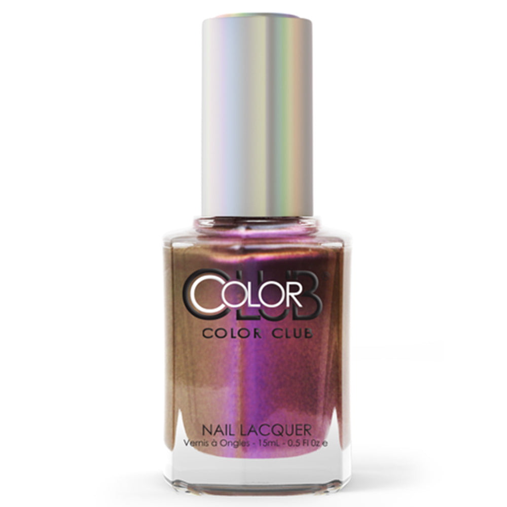 Color Club Purple Haze multichrome nail polish Oil Slick Collection