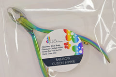 Rainbow Finish Cuticle Nipper