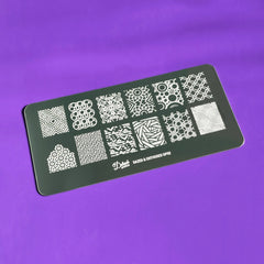 Dazed & Enthused Stamping Plate