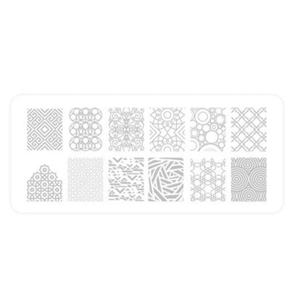 Delush Polish Dazed and Enthused stamping plate DP02 nail art