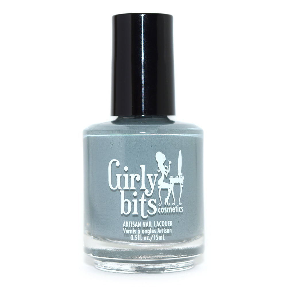Girly Bits Ambition grey creme nail polish