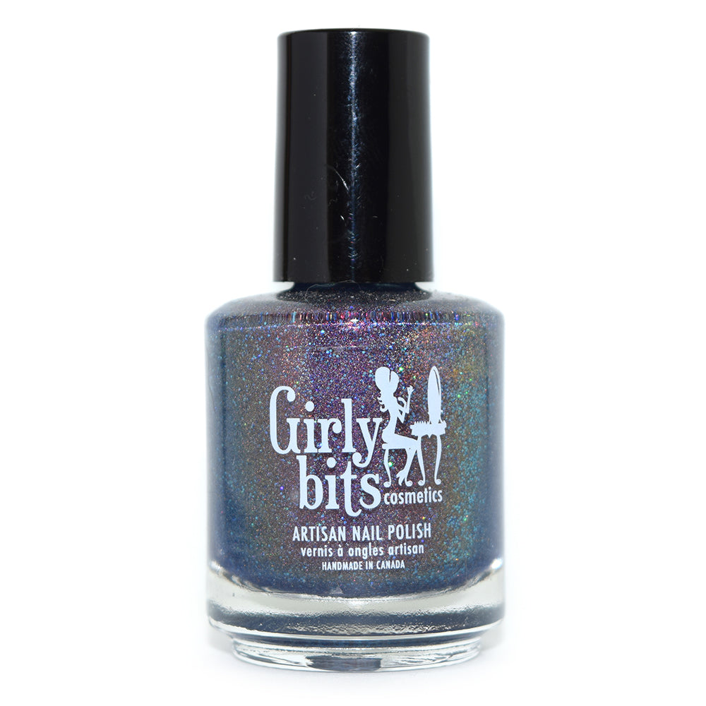 Girly Bits Astoria holographic nail polish