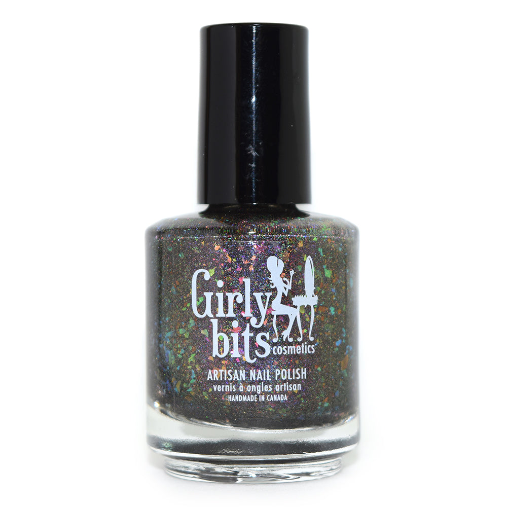 Girly Bits Aurora Twilight holographic nail polish