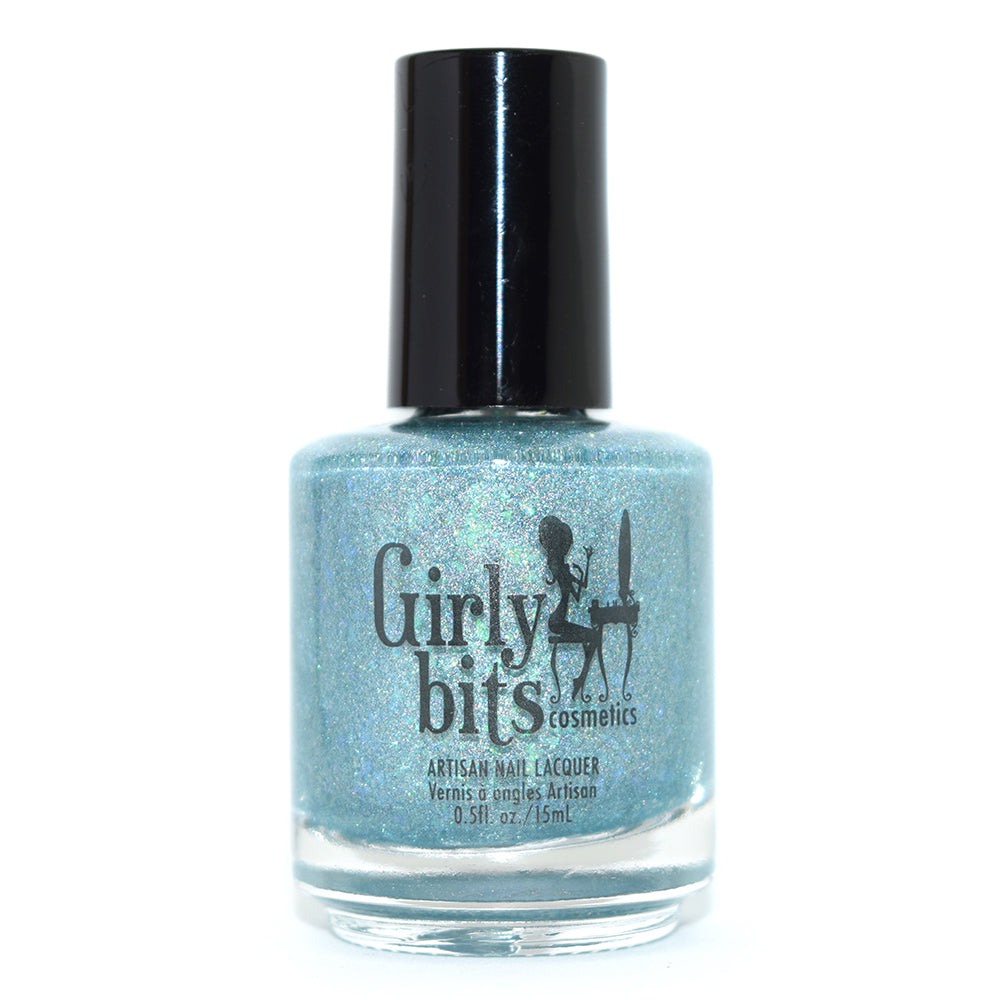 Girly Bits From Far and Wide holographic nail polish Harlow & Co. Exclusive