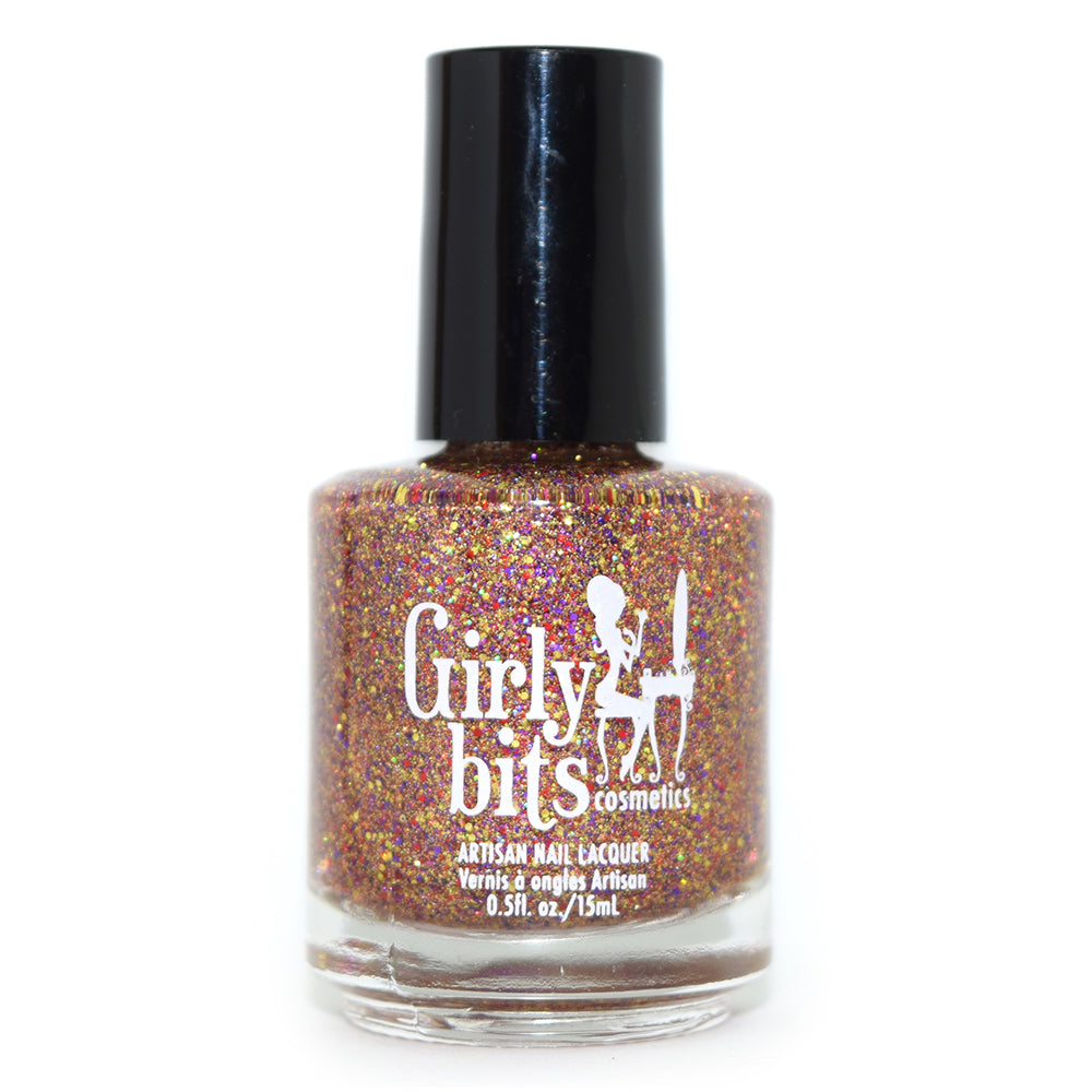 Girly Bits Holy Sh!tsnacks microglitter nail polish
