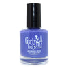 Girly Bits Purple Heyyys royal blue purple creme nail polish