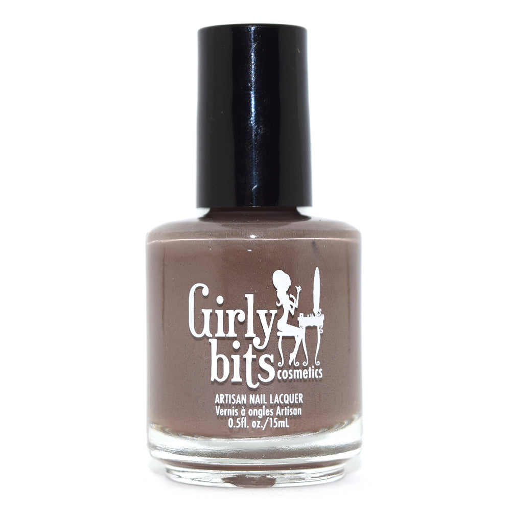 Girly Bits Walnuts About You brown nail polish