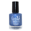 Girly Bits Winter Sanctuary deep blue shimmer holographic nail polish