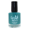 Girly Bits You Can't Handle The Spruce viridian green creme nail polish