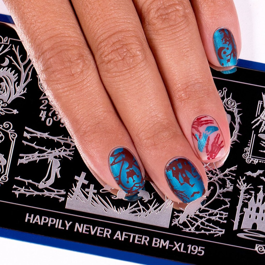 Happily Never After Stamping Plate - Dead of Night