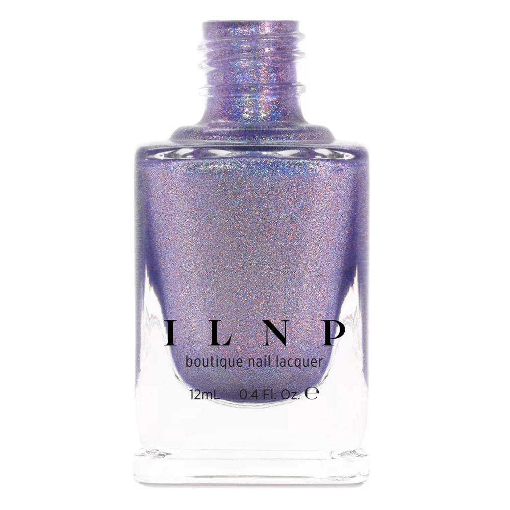 ILNP Utopia light violet ultra holographic nail polish