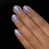 ILNP Utopia light violet ultra holographic nail polish swatch