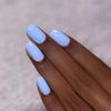 ILNP Bluebird blue speckled nail polish swatch Hatched Collection