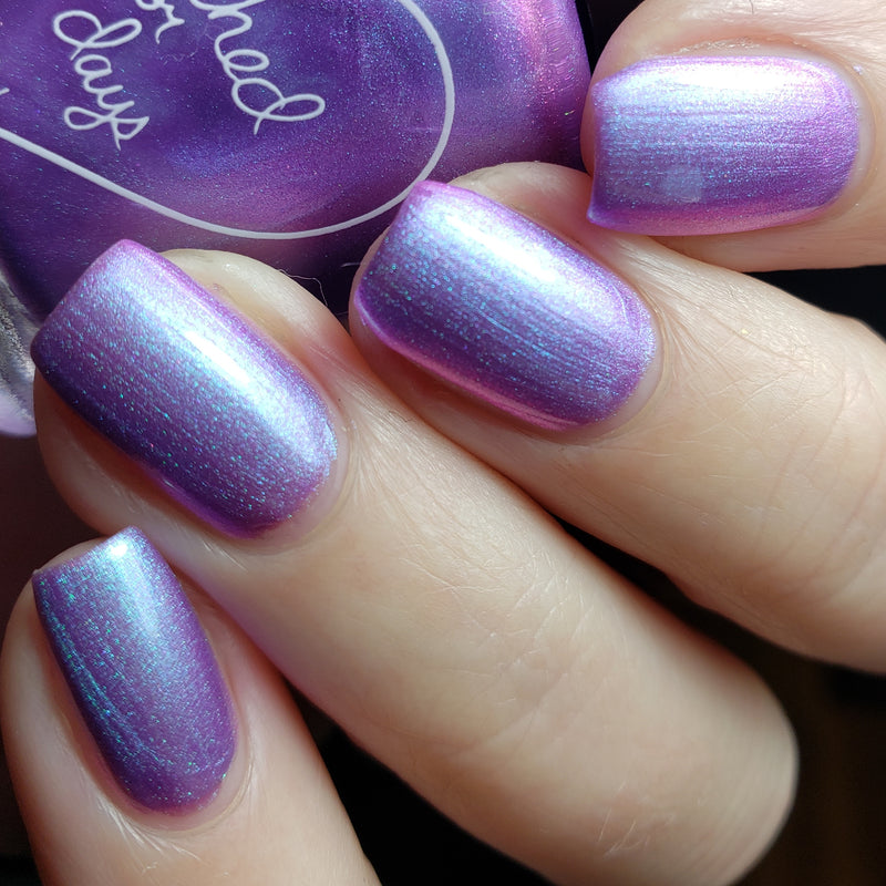 Polished for Days Keep Moving Forward nail polish swatch Imagination Collection