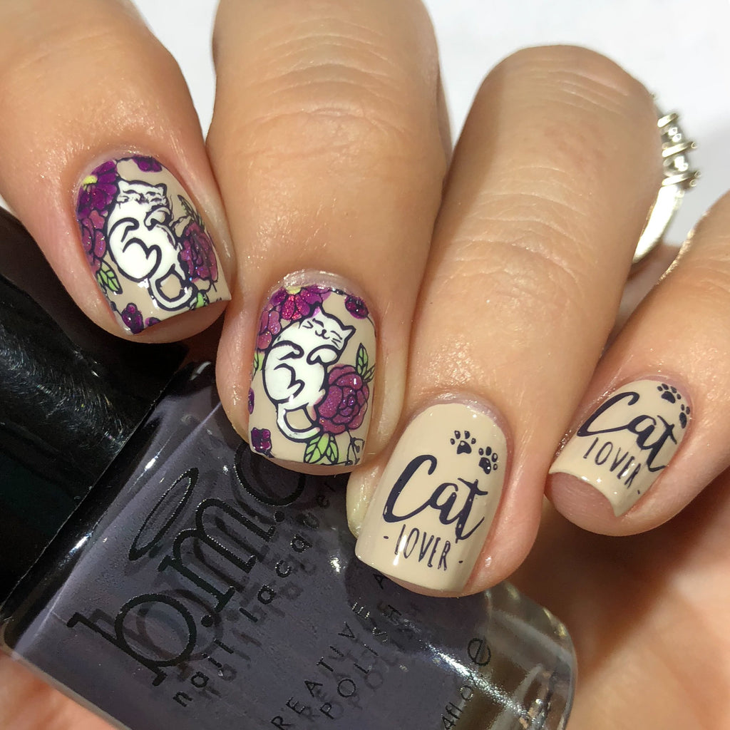 Artist Collab x MrsWhite8907 Stamping Plate