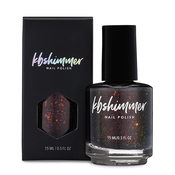 KBShimmer All Fired Up thermal nail polish Up & Autumn Collection