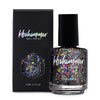 KBShimmer Off Tropic multichrome flakie top coat nail polish Seas the Day Collection