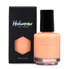 KBShimmer Papaya Don't Preach bright orange creme nail polish Seas the Day Collection