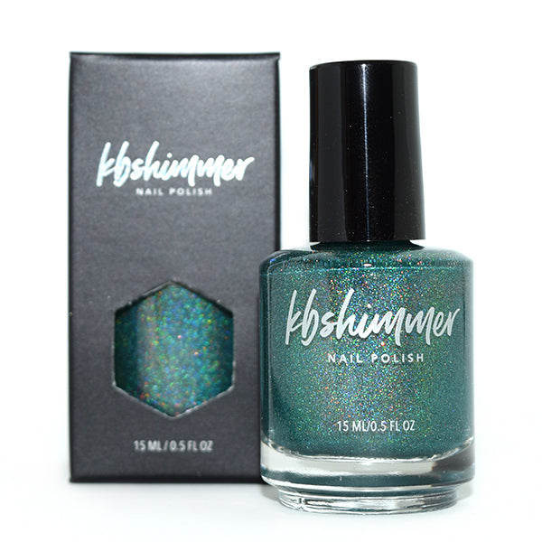 KBShimmer The Eh Team green holographic nail polish Indie Expo Canada 2019 Exclusive