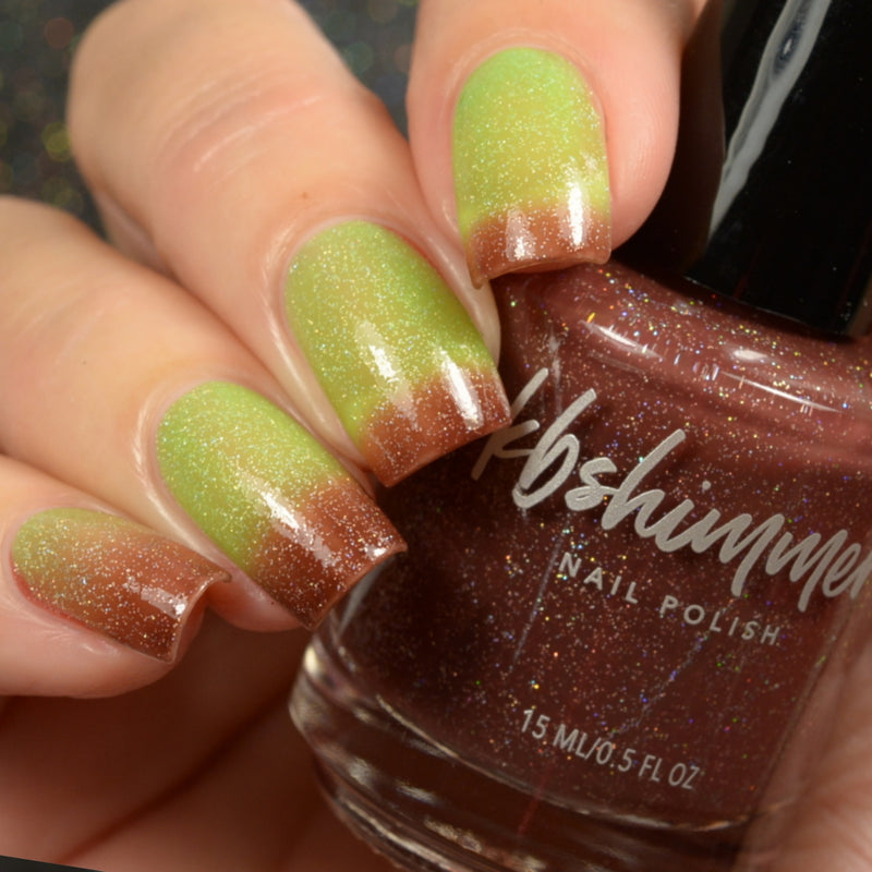 KBShimmer Apple-y Ever After thermal nail polish Up & Autumn Collection