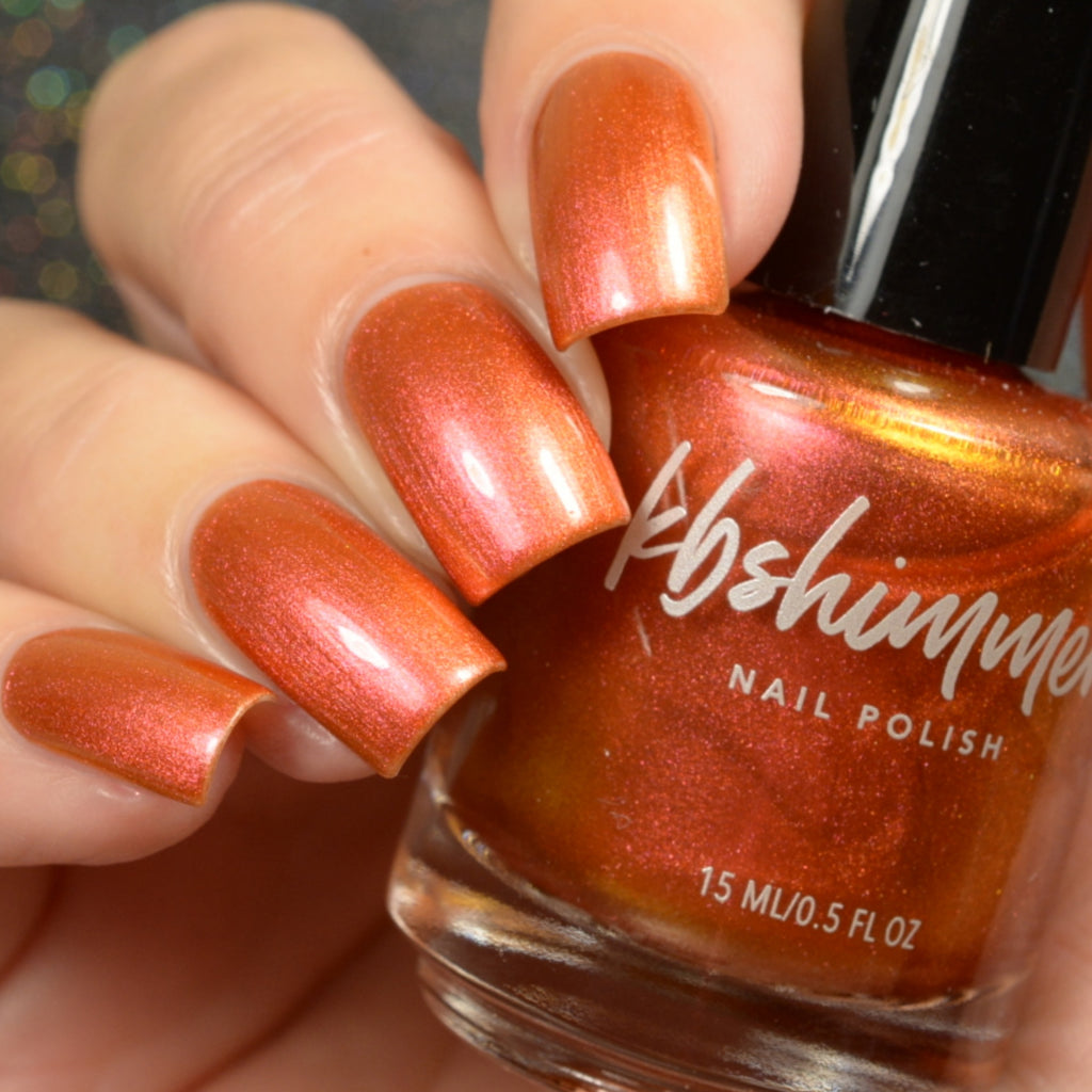 KBShimmer Spice Things Up multichrome nail polish Up & Autumn Collection