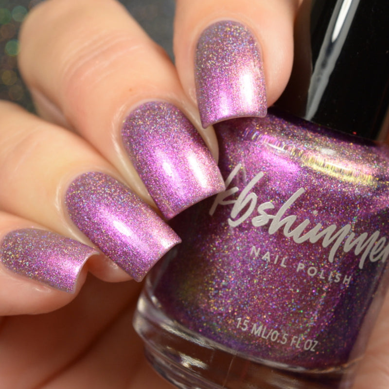KBShimmer Trend Sweater holographic multichrome nail polish Up & Autumn Collection