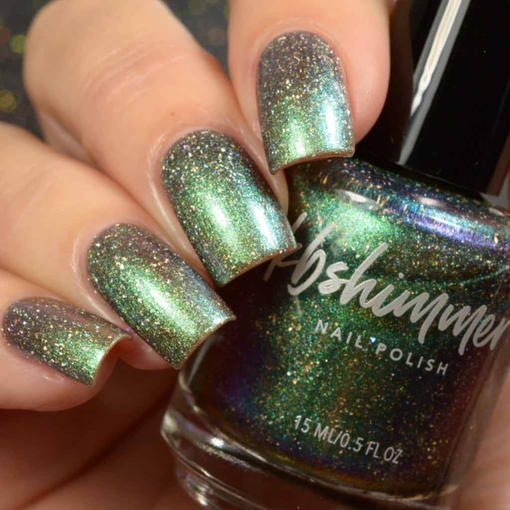 KBShimmer Vested Interest multichrome holographic nail polish Up & Autumn Collection