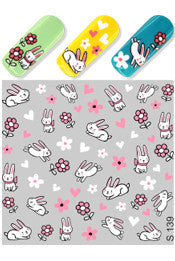 Funny Bunny Water Slide Decal