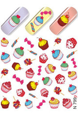 Cupcakes & Sweets Water Slide Decal