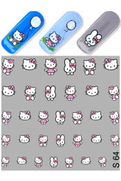 Hello Kitty Water Slide Decal