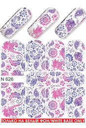 Pink & Purple Gradient Water Slide Decal