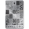 Lina Nail Art Supplies Make Your Mark 02 stamping plate