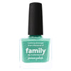 Picture Polish Family seafoam green holographic nail polish