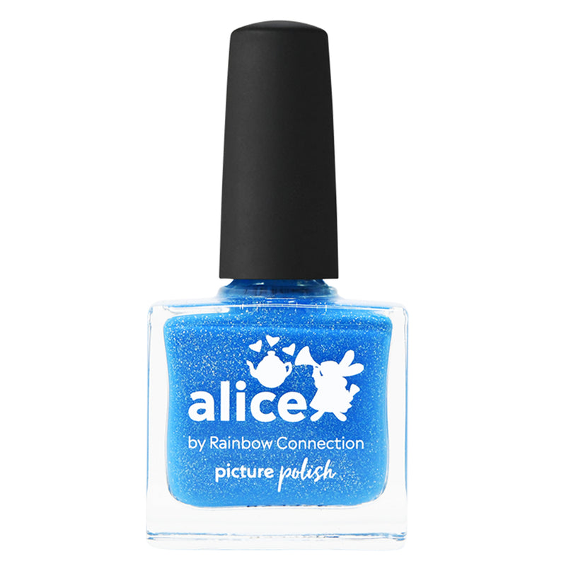 Picture Polish Alice blue holographic nail polish