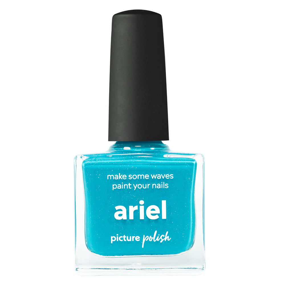 Picture Polish Ariel aqua blue holographic nail polish