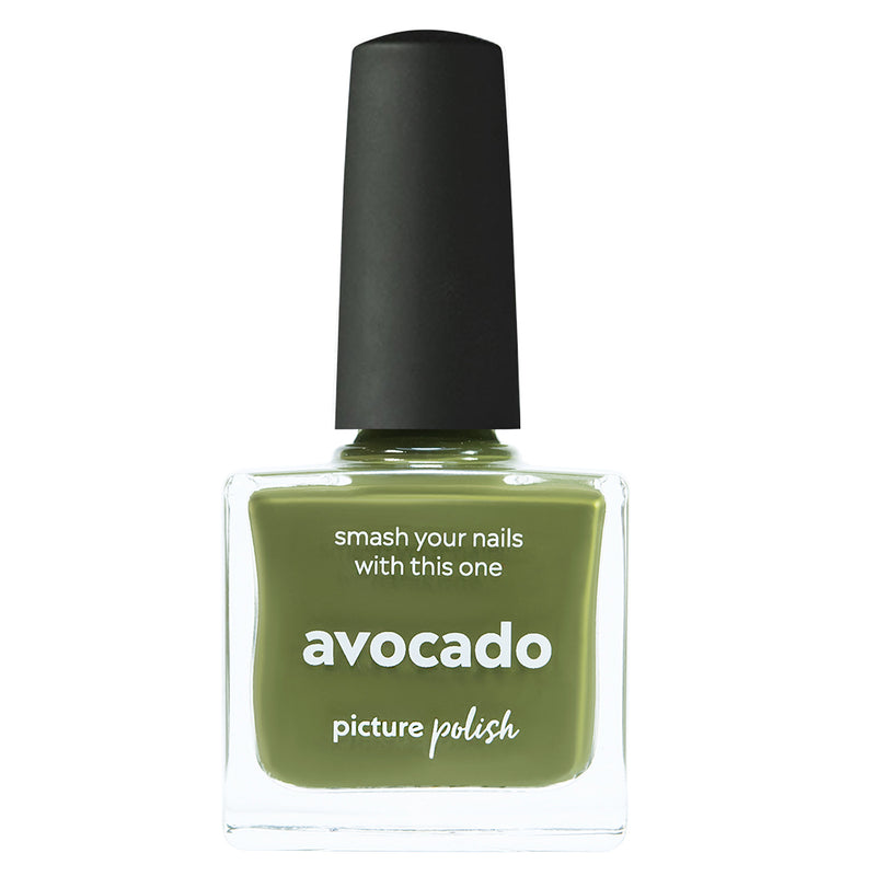 Picture Polish Avocado green creme nail polish