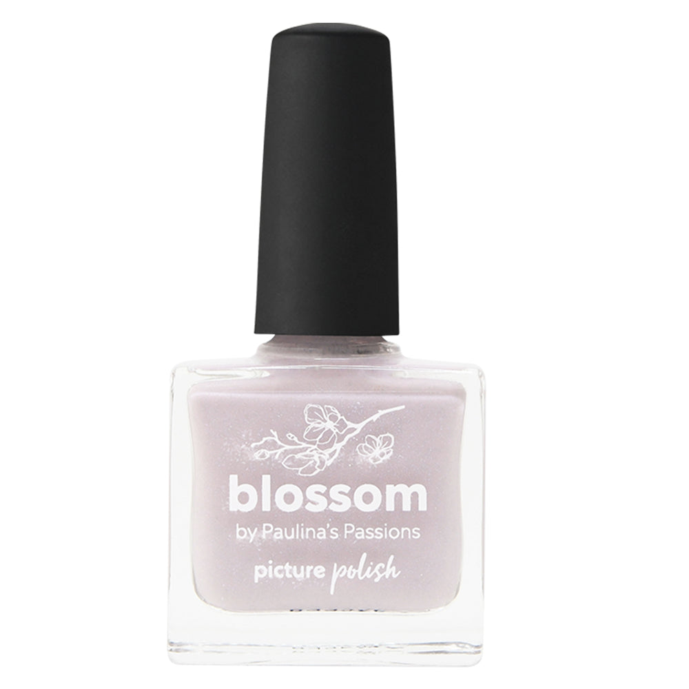 Picture Polish Blossom soft baby pink nail polish