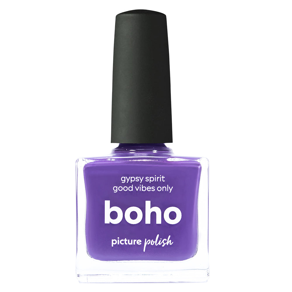 Picture Polish Boho dusty purple creme nail polish
