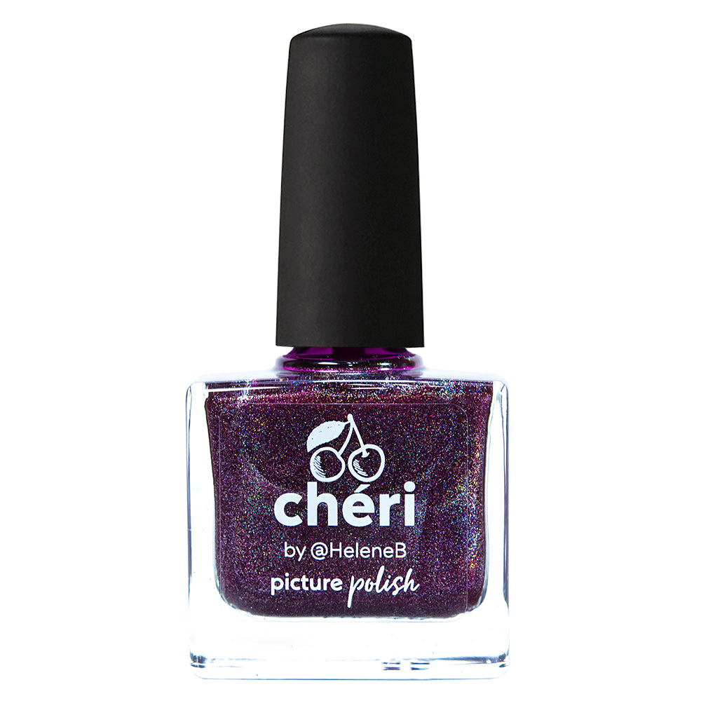 Picture Polish Cheri cherry/berry holographic nail polish