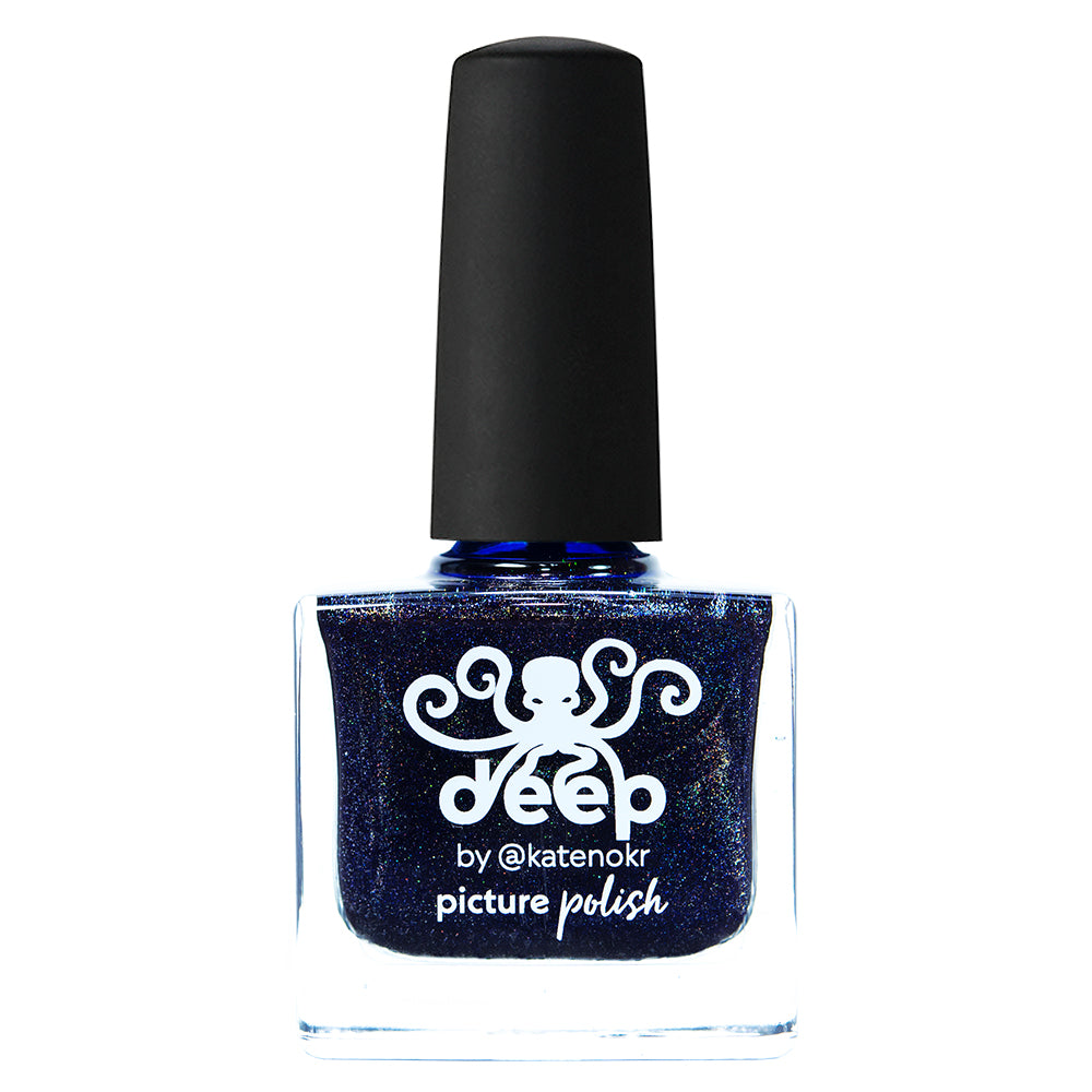 Picture Polish Deep purple blue holographic nail polish