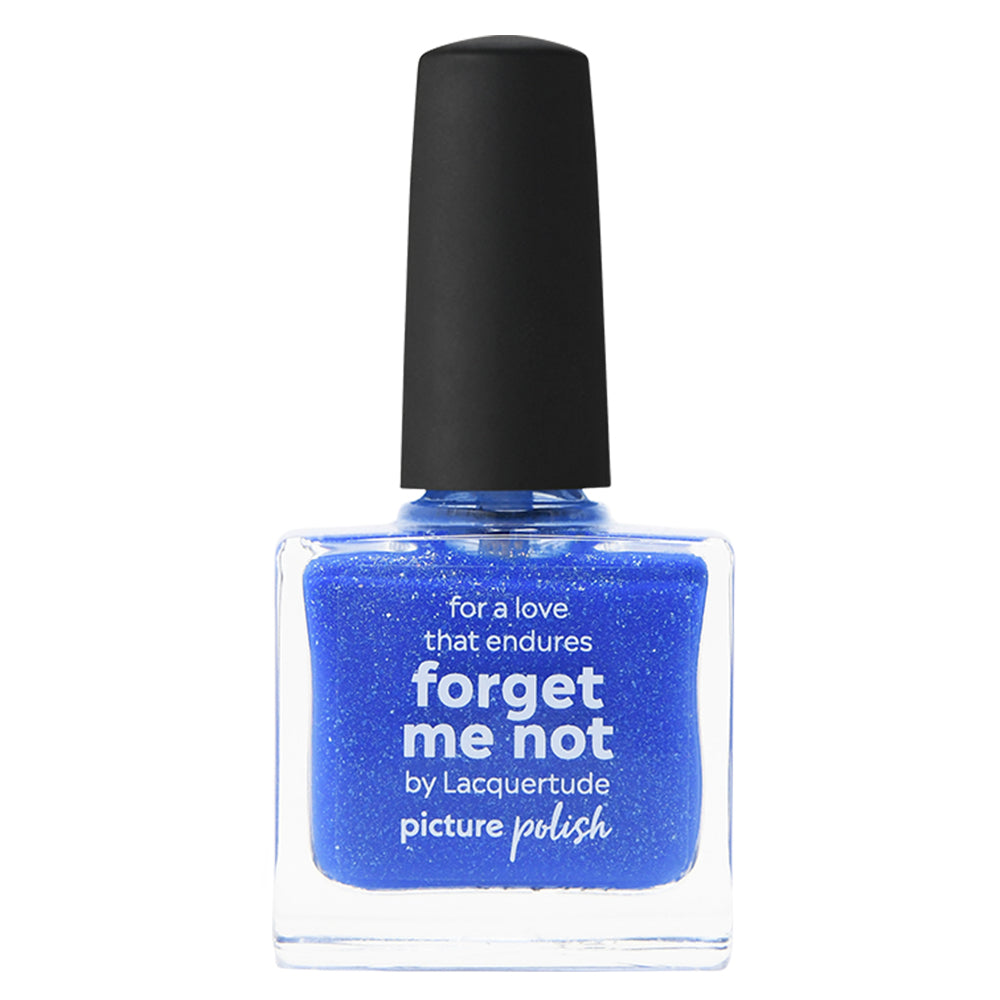 Picture Polish Forget Me Not blue nail polish