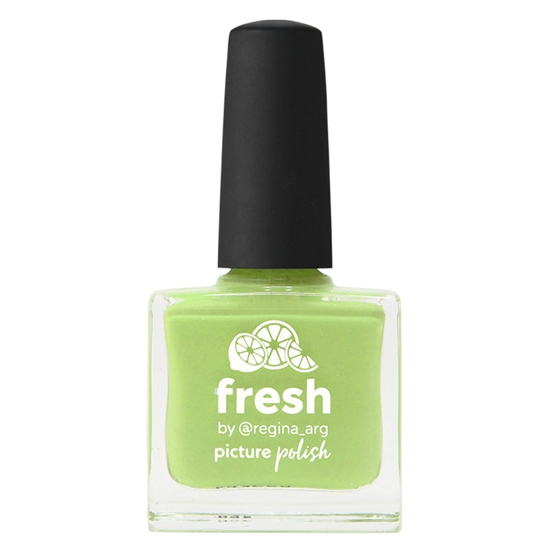 Picture Polish Fresh lime green holographic nail polish