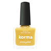 Picture Polish Korma mustard yellow creme nail polish