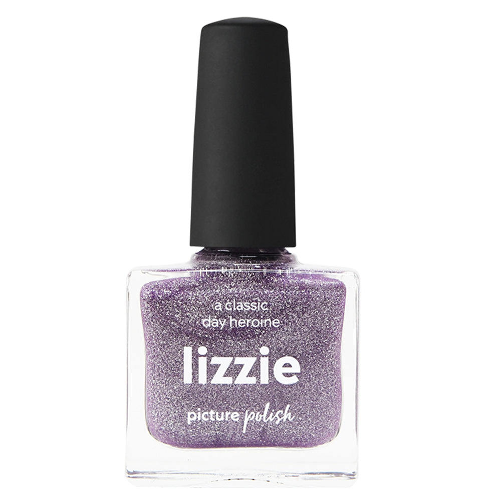 Picture Polish Lizzie lilac scattered holographic nail polish