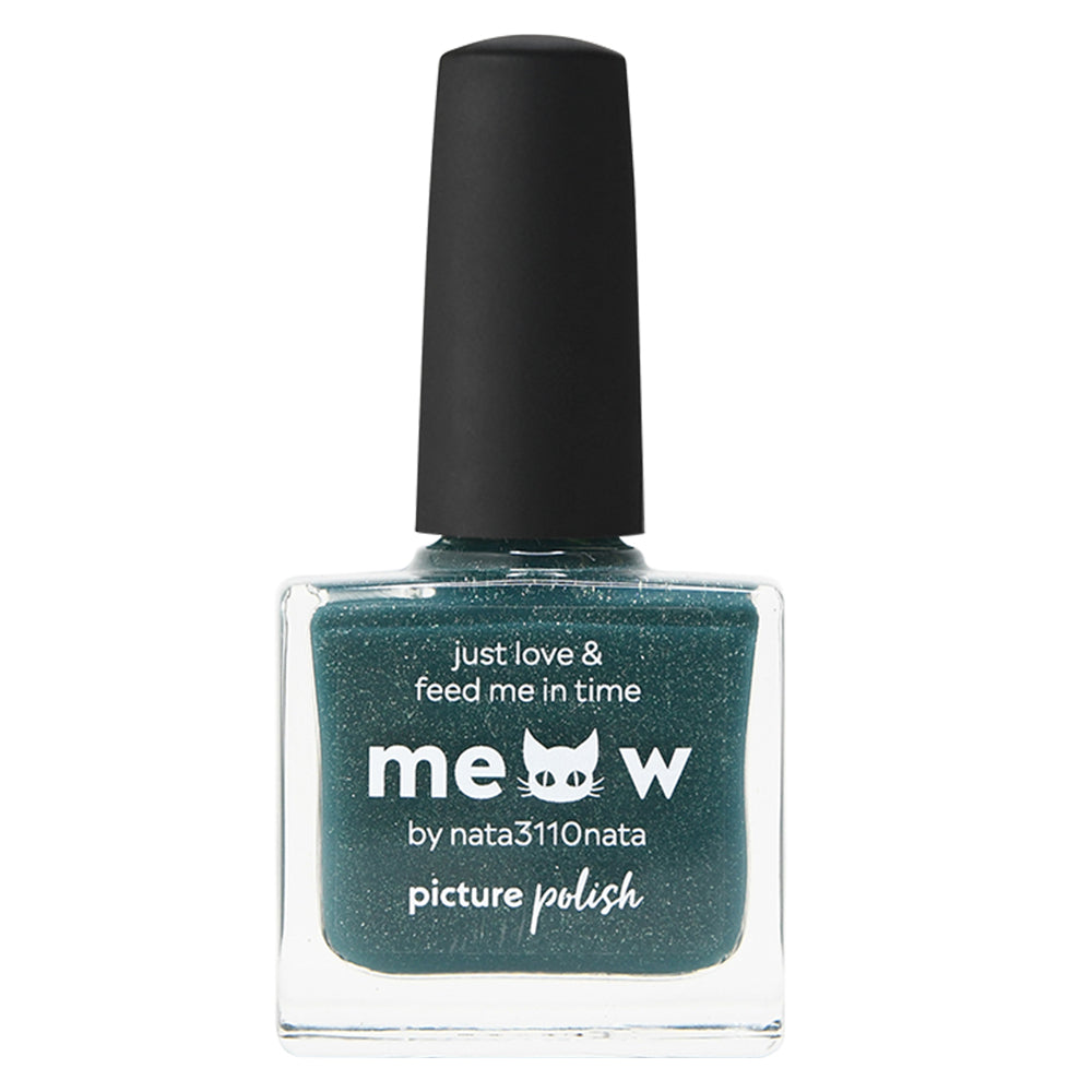 Picture Polish Meow green scatter holographic nail polish